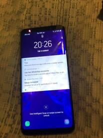 Samsung S9 64gb unlocked 2 days old