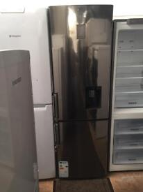 Samsung silver good looking frost free A-class fridge freezer with water dispenser cheap
