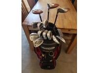 Full Set of Golf Club (Callaway, Taylor Made, Cart Bag & Accessories)