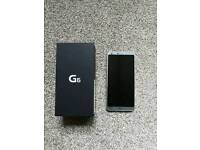 LG G6 Ice Platinum(Unlocked)32GB + Extras