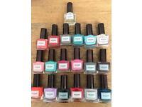 Soigné Botanique 5 free nail polish collection (19 polishes)