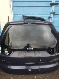 ford galaxy rear tailgate 2014