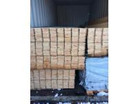 New timber shiplap cladding 18 ft long
