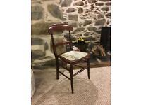 Charming bedroom/ hallway chair
