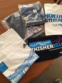 5 event t-shirts, all medium, never worn, brand new