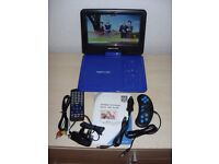 9.5 INCH PORTABLE DVD PLAYERS NEW
