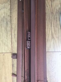 Ikea Venetian wooden blinds in dark oak, excellent condition SOLD OUT AT IKEA 80x170cm