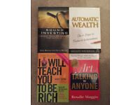 Investment Business Financial Wealth Money Rich Influence Self Help Books Job Lot