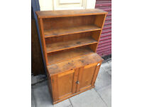 Wooden Unit - free local delivery Nice little wooden unit , size L 28 in D 12 in H 45 in
