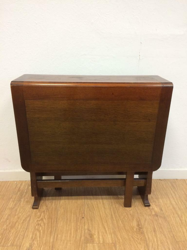 1950s drop leaf table