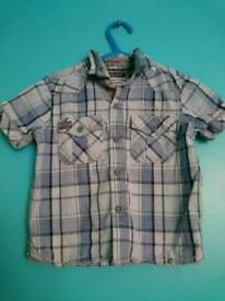 Boys Sleeveless Shirt Next 12-18 Months