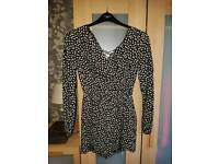 Brand new with tags long sleeve playsuit size 6