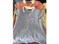 6 girls school dresses 3-4 years