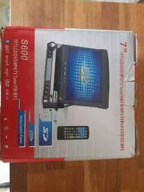 """7"""" DVD head unit with touch screen radio/stereo"""