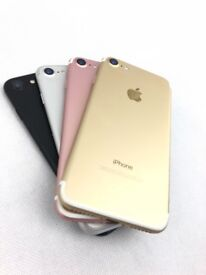 APPLE IPHONE 7 128GB * ALL COLOURS ** UNLOCKED