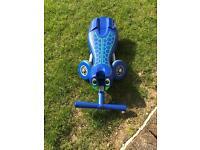 Blue 'Scuttlebug' trike