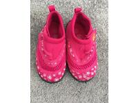 Girl's Pink Beach Shoes Infant Size 5