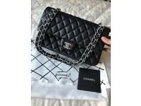 Chanel 2.55 leather bag. 26cm