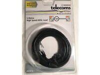 5 METRE HIGH SPEED ADSL LEAD
