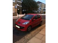 Peugeot 107 5door low mileage MOT cheap car