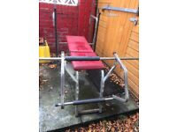 Combination Weights Bench
