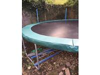 12ft trampoline with padding