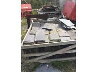 Reclaimed Welsh Roof Slates - 400mm x 220mm