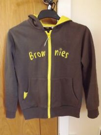 Girls Brownies Hoodie Size 76 cm Chest