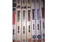 Shameless series 1 to 7