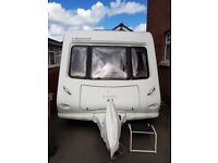 2008 Elddis Odyssey 544 4 berth Fixed Bed with AIR Awning