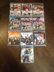 Mixed assortment of Games, DVD's and Music (31 in total)