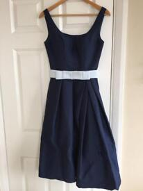 Chi chi navy blue dress