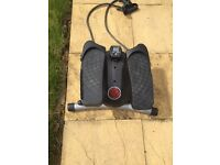 Olympus stepper with resistance straps