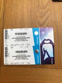 Collabro Tickets x2 Nottingham 21 Nov