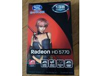 Sapphire Radeon HD 5770 1GB GDDR5 PCIE Graphics Card