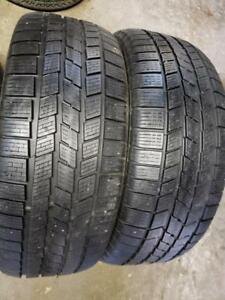 2 winter tires pirelli ice & snow 245/45r20