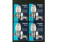 4 x TRV's (Thermostatic Radiator Valves)