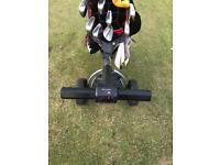 Motocaddy s1 electric trolley. Working needs attention.
