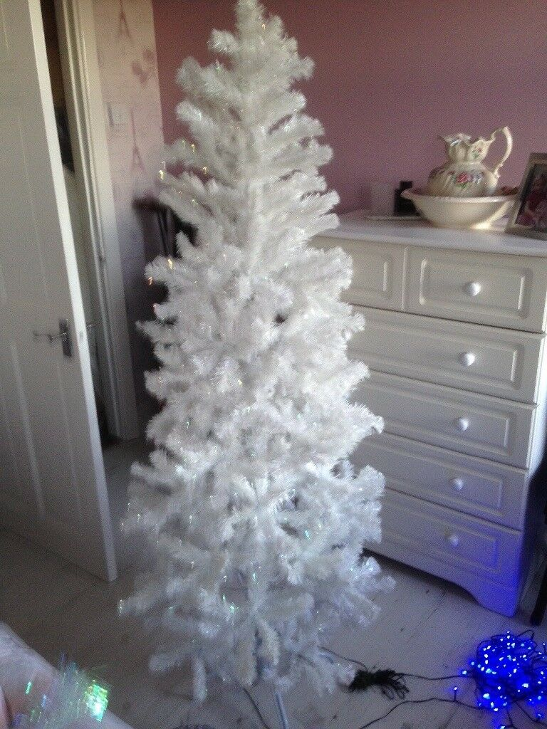 6ft white christmas tree - 6ft White Christmas Tree