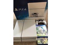 White PlayStation 4 500gb