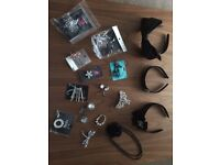 Large selection of hair accessories, fascinators etc - excellent condition, many never worn