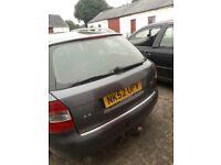 Audi a4 no MOT need work £500