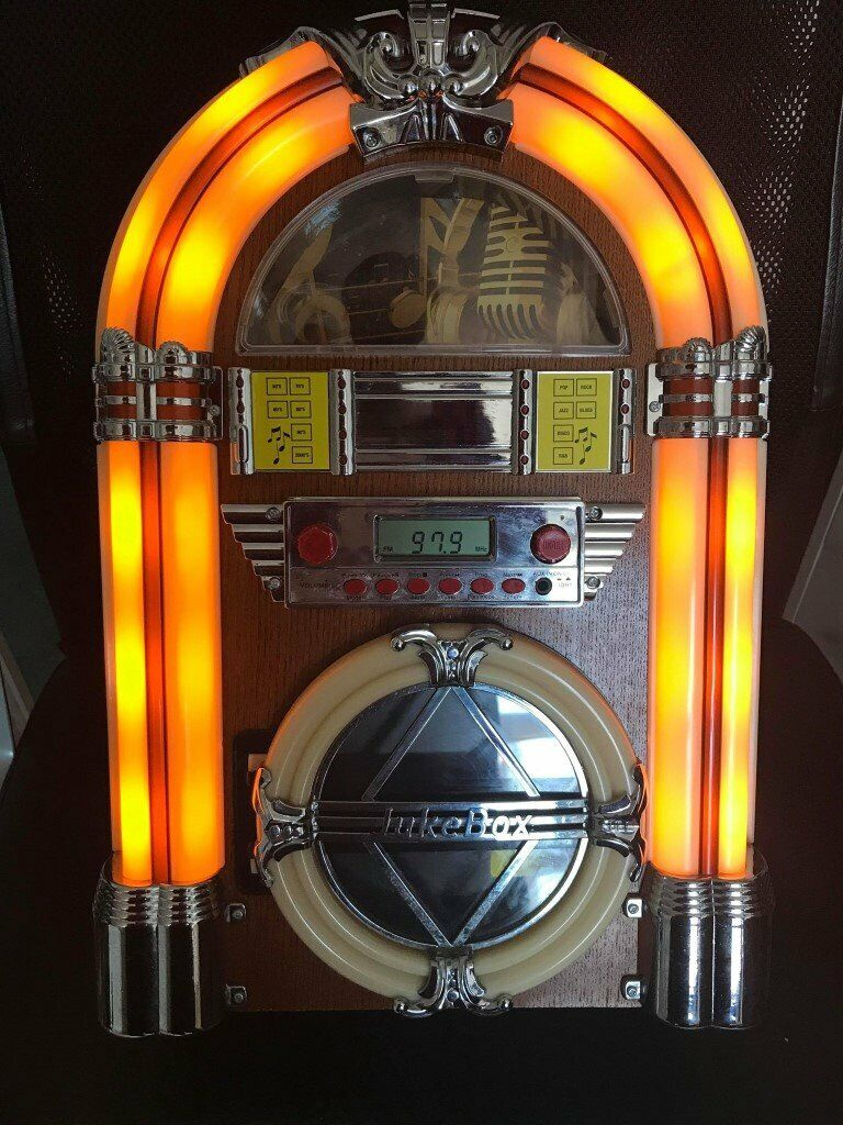Mini Bluetooth Jukebox with CD player/ AUX/ RADIO Great condition | in  Sandwell, West Midlands | Gumtree