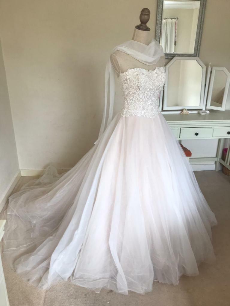 8a7d310f41b9 STUNNING MORI LEE WEDDING DRESS - STYLE 2777 - SIZE 8 | in ...