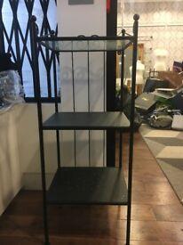 2 Glass top Metal Shelf Display Unit (Shop Clearance)