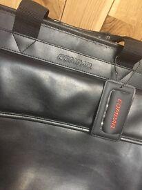 COMPAQ leather laptop bag