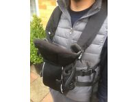 Baby carrier, pouch