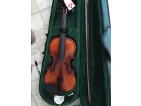 Violin never used with books