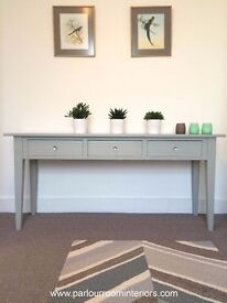FRENCH VINTAGE LONG CONSOLE TABLE / SERVER / SIDEBOARD