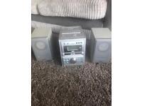 3 disc multichanger CD player also with tape & radio £5